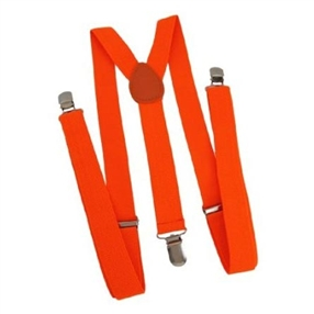 Boys Suspenders 0-8 years: NEON ORANGE
