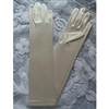 Satin Gloves - Long/Ivory (0-16 years)