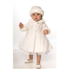 Evelyn - White Christening Coat