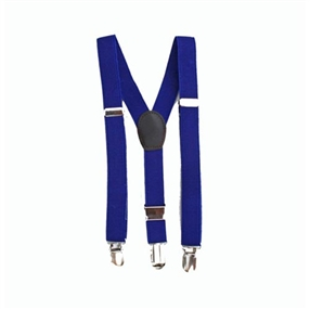 Boys Suspenders - Royal Blue