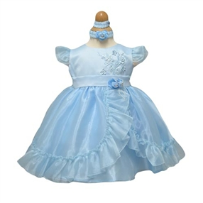 Phoebe blue Baby Dress