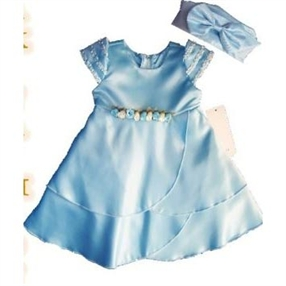 Jenna  - Blue Baby Dress