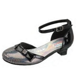 Black Party Shoes for Girls