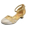 Gold Party Shoes for Girls