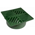 NDS - 07 - 5 in. Sq Grate-Green