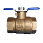 "Wilkins 850T 1"" Tapped Ball Valve"