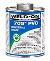 705 Quart Pvc Cement - Gray