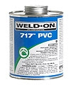 717 Quart Heavy Duty Pvc Cement - Gray