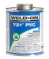 721 Quart Pvc Cement - Blue