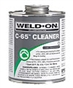 C-65 Weld on Clear Cleaner - Qt