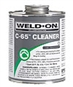 C-65 Weld on Clear Cleaner - Pt