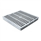 "NDS - 1210 - 12"" Sq Grate-Grey"