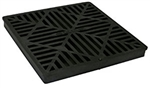 "NDS - 1211 - 12"" Sq Grate-Black"