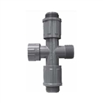 1320-010 - Lasco Manifold Cross - Nut X Mthd X Vcon