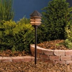 Kichler - 15005AZT - 12V Three-Tier Path & Spread Light, Textured Architectural Bronze