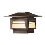 Kichler - 15071OZ - Zen Garden, Post Light, 12V