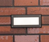 Kichler - 15074AZT - 12V Brick Wall Light - Textured Architectural Bronze