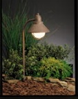 Kichler - 15239OB - 120V Traditional Marine Lantern Path Light, Olde Brick