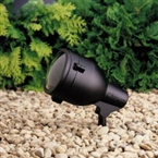 Kichler - 15241BKT - 120V Floodlight, Textured Black