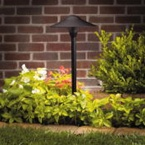 Kichler - 15310BKT - 12V Dome Path & Spread Light, Textured Black