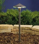 Kichler - 15317AZT - 12V Glass & Metal Path & Spread Light, Textured Architectural Bronze