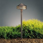 Kichler - 15318AZT - 12V Galaxy Path & Spread Light, Textured Architectural Bronze
