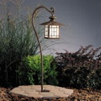 Kichler - 15319PZ - 12V Mission Lantern Path & Spread Light, Patina Bronze