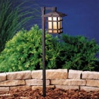 Kichler - 15322AGZ - 12V Cross Creek Lantern Path & Spread Light, Aged Bronze