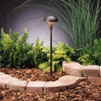 Kichler - 15323AZT - 12V Eclipse Path & Spread Light, Textured Architectural Bronze