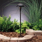 Kichler - 15323BKT - 12V Eclipse Path & Spread Light, Textured Black