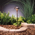 Kichler - 15323TZT - 12V Eclipse Path & Spread Light, Tannery Bronze