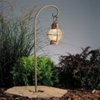 Kichler - 15334OB - 12V Concord Lantern Path & Spread Light, Olde Brick
