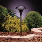 Kichler - 15336BKT - 12V Large Eclipse Path & Spread Light, Textured Black