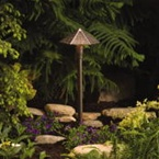 Kichler - 15401AZT - 12V Path & Spread Light, Textured Architectural Bronze