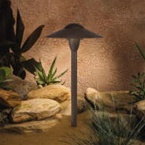 Kichler - 15410AZT - 12V Dome Path & Spread, Textured Architectural Bronze