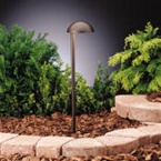 Kichler - 15423AZT - 12V Side Mount Eclipse Path & Spread, Textured Architectural Bronze
