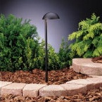 Kichler - 15423BKT - 12V Side Mount Eclipse Path & Spread, Textured Black