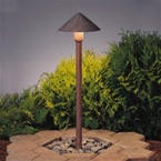 Kichler - 15439OB - 12V Fundamentals Path & Spread Light, Olde Brick