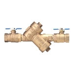 Double Check Valve Assy, Union, Strainer