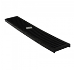NDS - 243 - 2' Black Channel Grate
