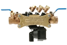 "3/4"" RPZ Backflow w/ Male Testcock"