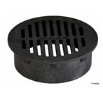 "NDS - 40 - 6""Rd Grate-Black"