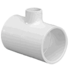 401-122 - Slip Reducing Tee 1 x 1/2 x 1""