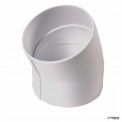 NDS - 4P04 - 4 in. PVC 22-1/2 Elbow