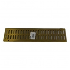 NDS - 553PB - 1 foot Brass Mini Grate