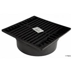 "NDS - 771 - 7"" Sq Grate-Black"
