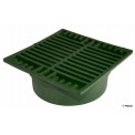 "NDS - 772 - 7"" Sq Grate-Green"