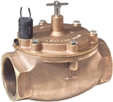 "Weathermatic - 8200CR-30D - 3"" Brass Valve"