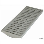 "NDS - 837 - 8"" x 20"" Channel Grate- Lt Gray"