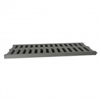 "NDS - 847 - 12"" X 20"" Channel Grate Gray"